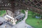 Inside Looking Down, Eiffel Tower, Paris